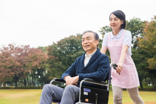 車椅子の風景